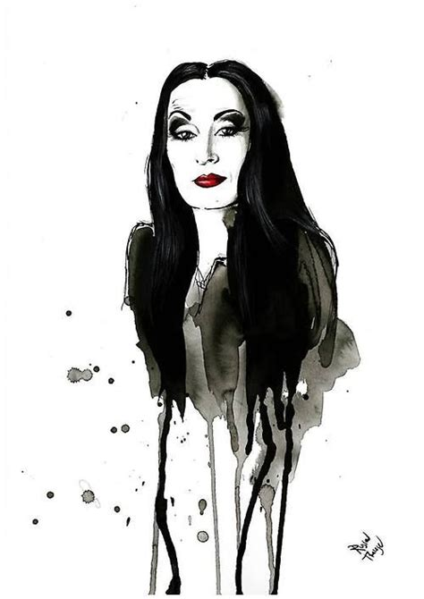 morticia addams tattoo 124 best images about morticia le arte de morte on