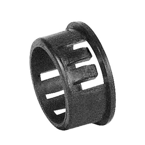 plastic knockout insulating bushing for 3 4 in knockout