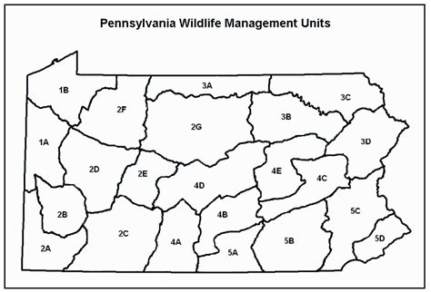 pa wmu map pennsylvania residents opinions on and attitudes toward deer and deer management and