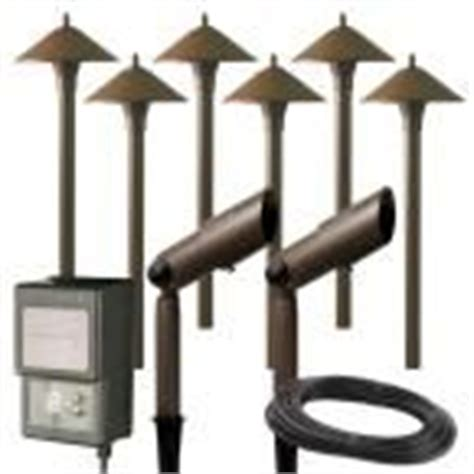 Landscape Lighting Kits Home Depot 1000 Ideas About Low Voltage Outdoor Lighting On