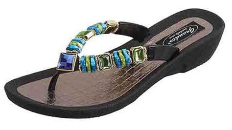 grandco sandals grandco sandal palm leaf black beautiful ebay