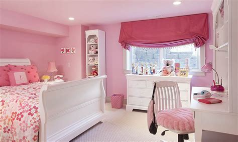 white and pink girls bedroom set contemporary kids minimalist pink girls bedroom with modern white desk and