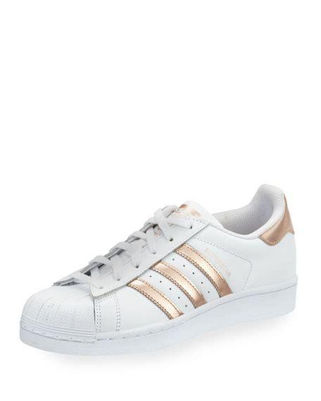 Sneaker Adidas Gold adidas superstar original fashion sneaker white gold