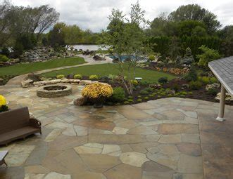 Flagstone Patio Pictures Gallery Landscaping Network