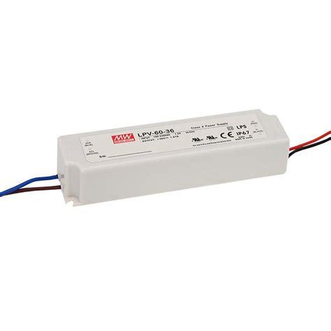Power Supply Well Led Driver Lpv 60 24 lpv 60 24