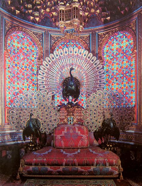 Most Popular Home Design Blogs peacock s garden the peacock throne of king ludwig ii of