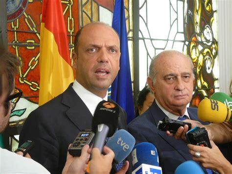 alfano ministro interno visita ministro dell interno angelino alfano a madrid