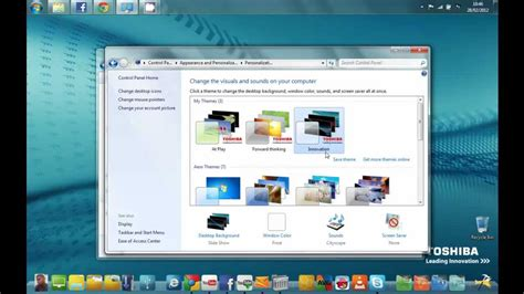 free download themes for windows 7 toshiba how to download oem toshiba wallpaper only in window 7