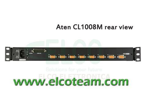 Aten Cl1008 console kvm 8 porte lcd 17 quot aten cl1008m elcoteam