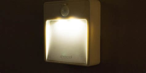 battery operated outlet for lights dodocool battery powered motion sensor light review