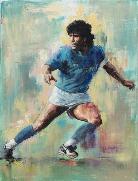 diego painting diego maradona painting forza27