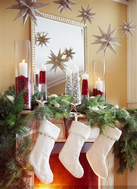 50 gorgeous christmas holiday mantel decorating ideas