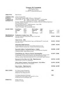 Glazing Estimator Cover Letter by Pilot Resume Pilot Aviation Resume Exles Corporate Pilot Resume Clifford W Speare 39w892