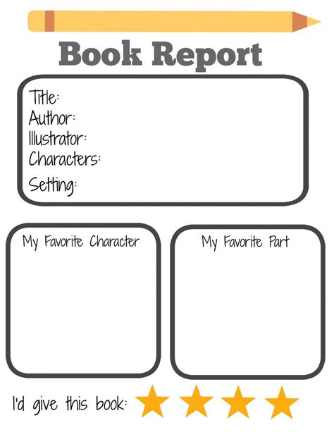 printable book reports starting a summer book club for and free printable