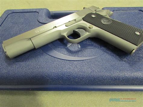 1991 colt government 45acp stainless colt 1991 series stainless government 1911 45a for sale