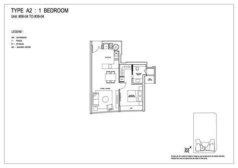 one shenton floor plan 1 bedroom 76 shenton