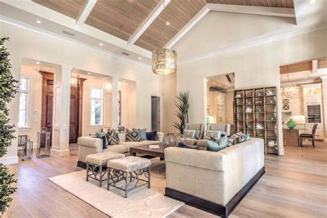 miami home design llc adding dramatic impact with high ceilings in your living
