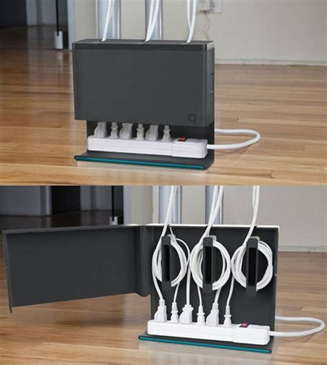 Cable Desk Organizer 15 Diy Cord And Cable Organizers For A Clean And Uncluttered Home
