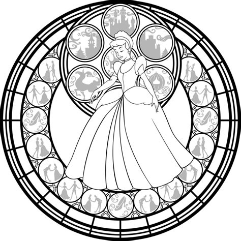 Kingdom Hearts Coloring Pages Stained Glass | kingdom hearts stained glass coloring pages coloring pages