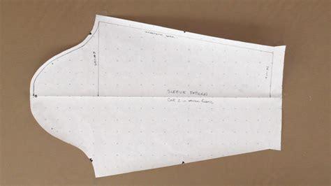 pattern making sleeves sleeve pattern woven fabric professorpincushion
