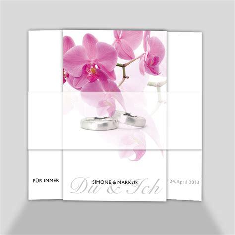 hochzeitseinladung orchidee hochzeitseinladung pinke orchidee