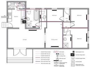 Plumbing House plumbing and piping plans solution conceptdraw com
