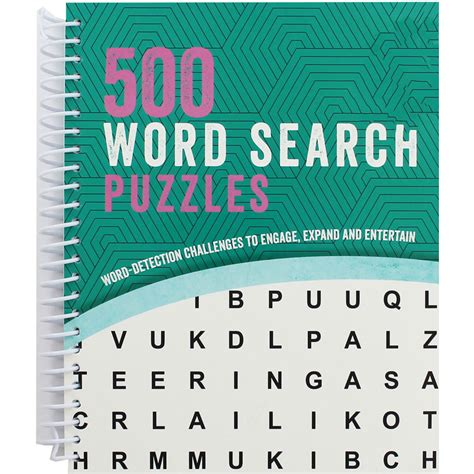 picture word find puzzle books 500 word search puzzles wordsearch books at the works