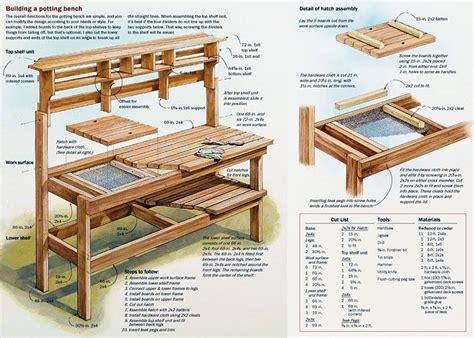 workbench plans garage  wooden excavator plans