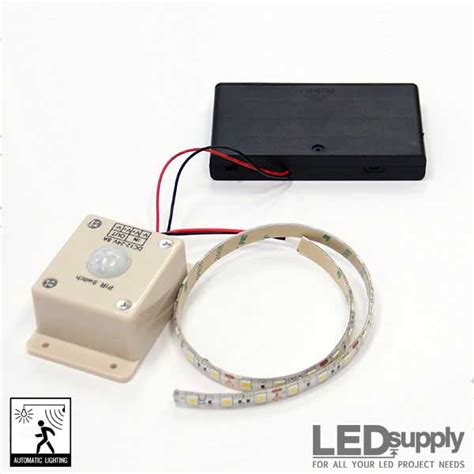 battery operated flexible led light strips led motion sensor strip light battery powered