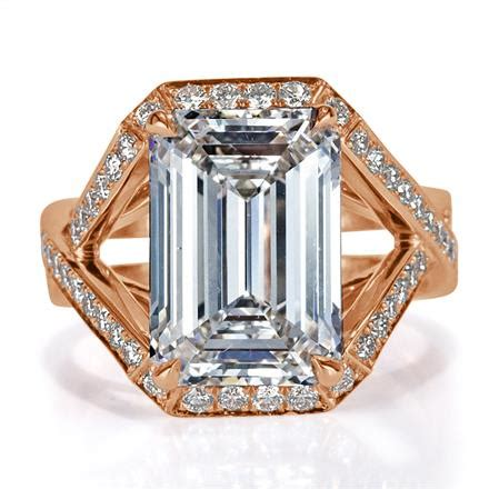 5 00ct emerald cut engagement ring