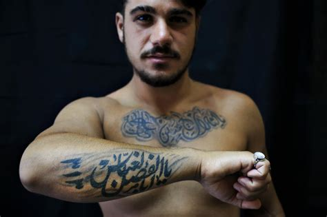 tattoo in islam shia pictured shiite tattoos a show of pride amid tensions