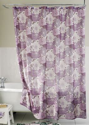 purple floral shower curtain collections etc find unique online gifts at