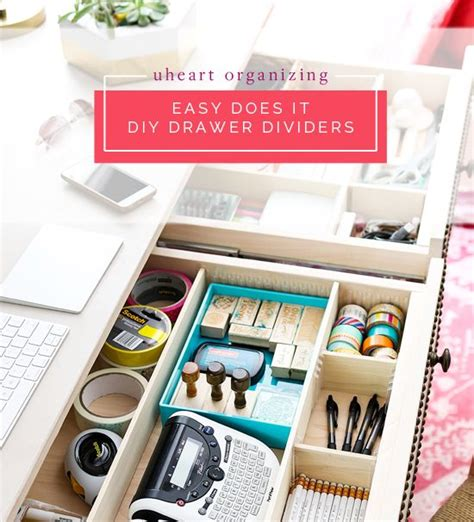 how to organize a desk without drawers 444 best diy organizers images on pinterest diy
