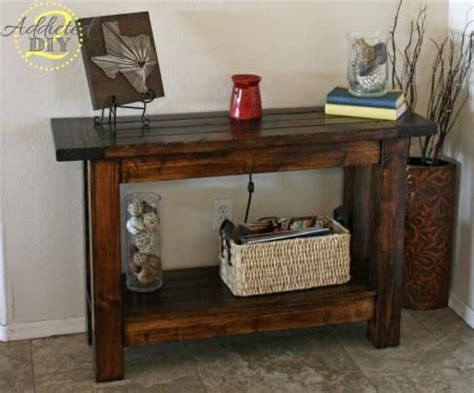 Pottery Barn Inspired Console Table First Build Do It Do It Yourself Sofa Table