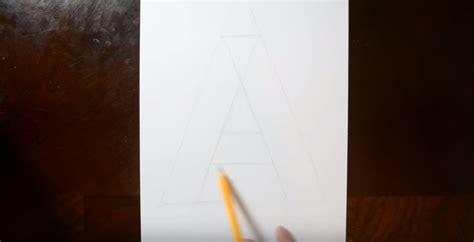 langkah membuat gambar 3d dengan pensil cara menggambar 3d di kertas dengan pensil untuk pemula