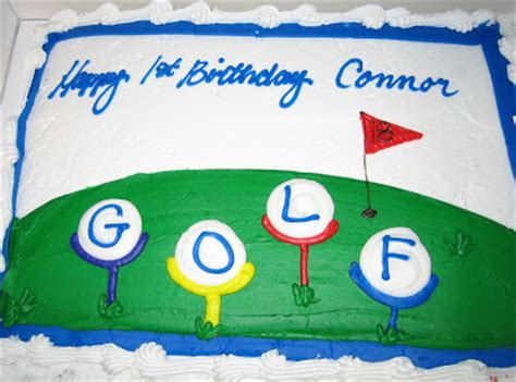 Golf Themed Ls by Peek Into Golf For