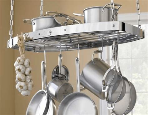 kitchen island pot rack 10 ways you can manage annoying kitchen storage lifehack