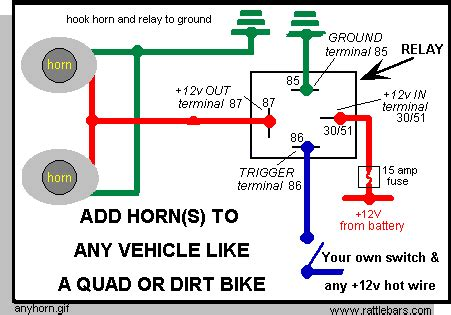 mitsuba arena horn wiring diagram 33 wiring diagram