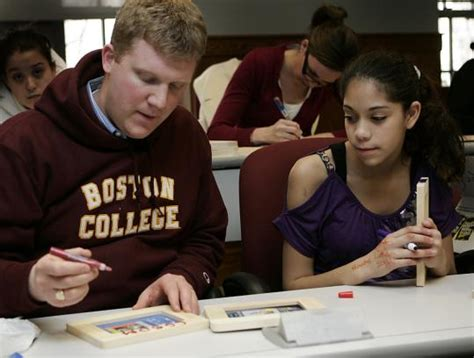 Boston College Carroll Mba Essays by Brookline S Steps To Success Program Aims At College For