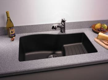 Swan Granite Kitchen Sink Swanstone 3322 077 Granite Large Undermount Ascend Single Bowl Kitchen Sink Nero