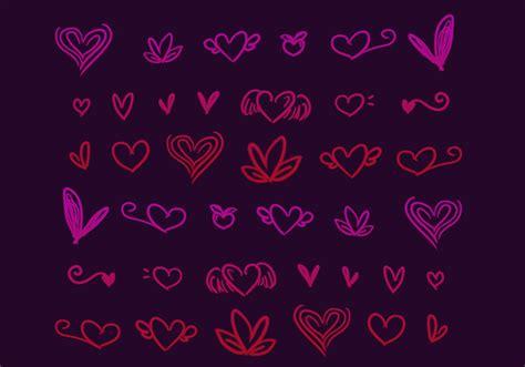 why do i doodle hearts doodles brushes 2 free photoshop brushes at brusheezy