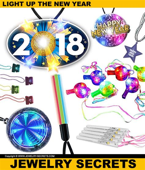 light up necklaces light up the 2018 new year with light up necklaces
