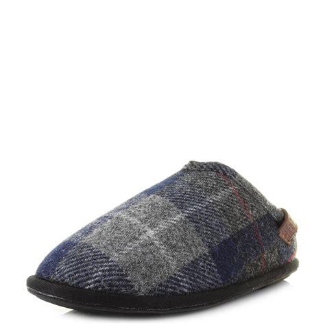bedroom slippers mens mens bedroom athletics harris tweed william navy black