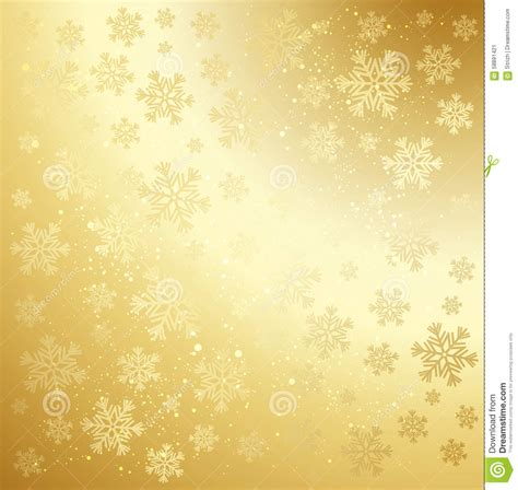 printable gold snowflakes gold winter abstract background stock vector image 58891421