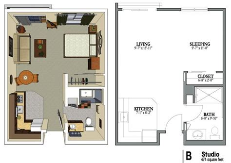 One Bedroom Apartment Plans And Designs | one bedroom apartment plans and designs apartment floor