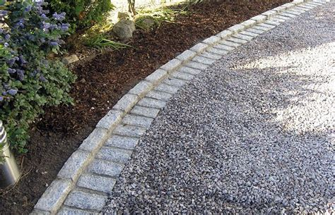 stone edging gravel landscape garden inspiration pinterest stone edging driveways
