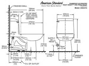Water Closet Standard Size by Standard Water Closet Size 28 Images Toilet Water