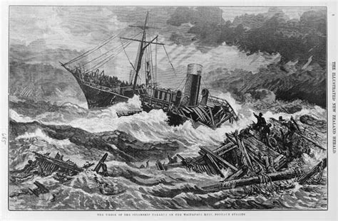 boat crash auckland wreck of the tararua shipwrecks te ara encyclopedia of