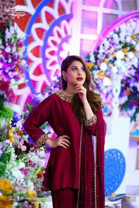 hina altaf simple pakistani dresses kurti designs party