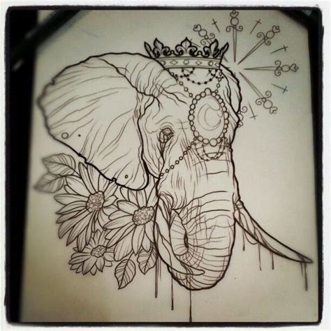 tattoo flash elephants 1000 ideas about circus elephant tattoos on pinterest